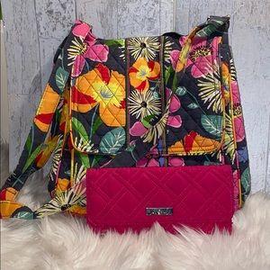 Vera Bradley Crossbody Bag & wallet